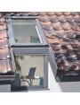 114x115 cm Karnizinio tipo stogo langas BDL L3, BDR L3
