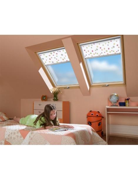 114x118 cm Padidinto atsparumo įsilaužimui stogo langas FTP-V P2 Secure