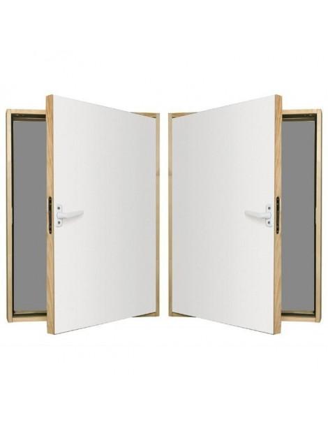 70x90 cm Karnizinės durys DWK