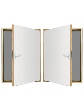 70x100 cm Karnizinės durys DWK