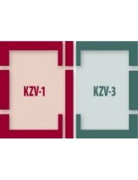 55x78 cm (lango matmenys) Kompleksinė tarpinių sistema B2/1 - ES