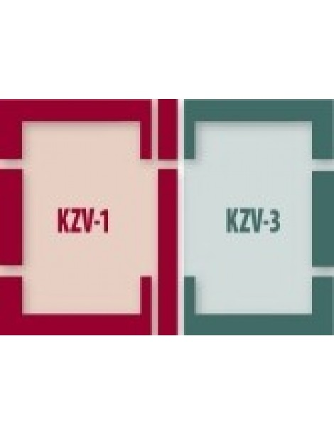 78x118 cm (lango matmenys) Kompleksinė tarpinių sistema B2/1 - ES