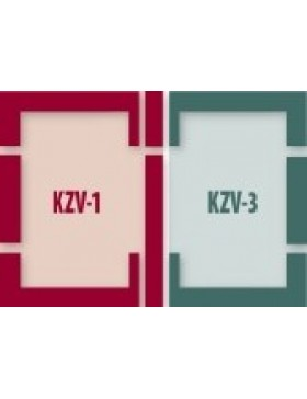 55x98 cm (lango matmenys) Kompleksinė tarpinių sistema B2/1 - EZ