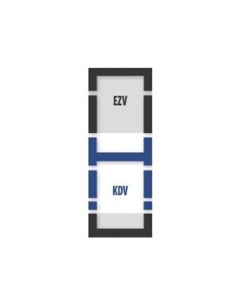 55x98 cm (lango matmenys) Kompleksinė tarpinių sistema B1/2 - ES