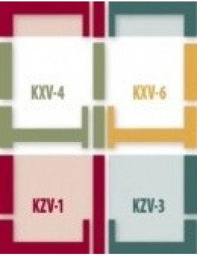 78x118 cm (lango matmenys) Kompleksinė tarpinių sistema B2/2 - EZ