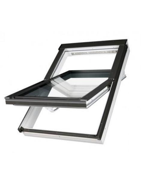 66x98 cm Aliuminio-PVC profilių stogo langas PTP-V U3