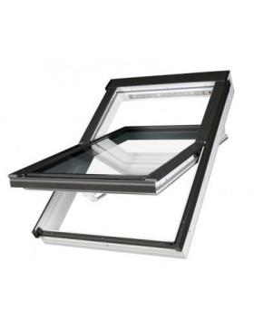 78x118 cm Aliuminio-PVC profilių stogo langas PTP-V U3