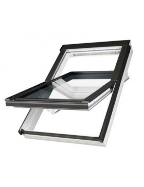 114x140 cm Aliuminio-PVC profilių stogo langas PTP-V U3