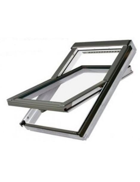 66x140 cm Apverčiamas medinis stogo langas FTU-V U3