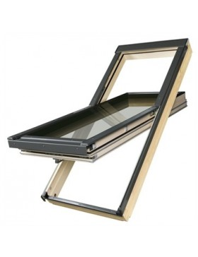 66x98 cm Energiją taupantis stogo langas FTT U6
