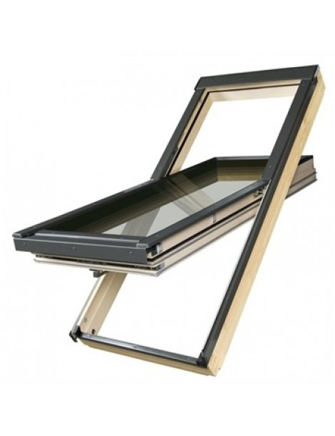 78x98 cm Energiją taupantis stogo langas FTT U6