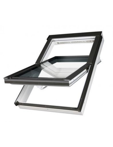 78x160 cm Aliuminio-PVC profilių stogo langas PTP-V U3