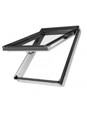 94x140 cm Pakeliamas apverčiamas stogo langas PPP-V U3 preSelect® MAX